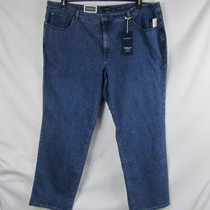 CHARTER CLUB Sz 26W Lexington Tummy-Slimming Jeans